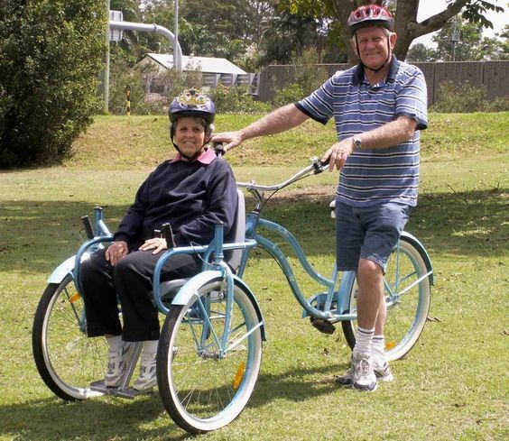 Bike Chair for Special Needs – allows you to take someone with limited mobility for a ride.