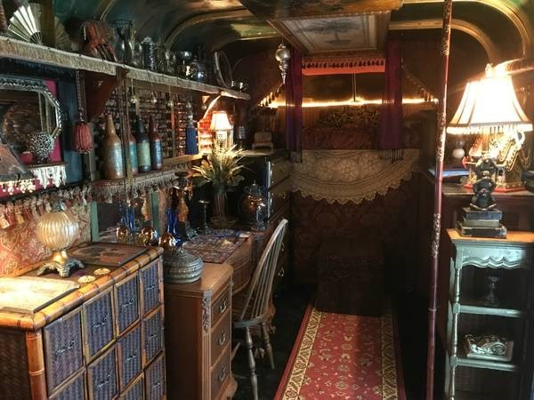 Horse Trailer Converted into Gypsy Wagon Style Tiny House