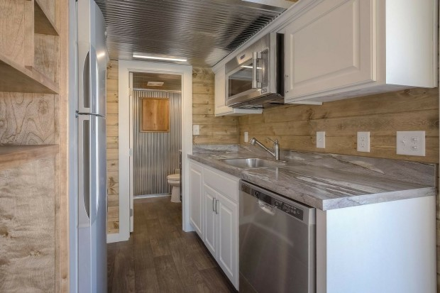Shipping Container Home with Porch