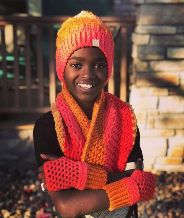 11-Year-Old Boy Speed-Crochets Unbelievable Masterpieces For Charity