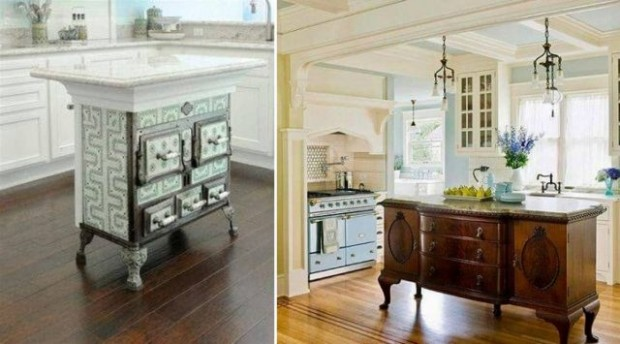 Surprising Items You Can Repurpose into Makeshift Kitchen Islands